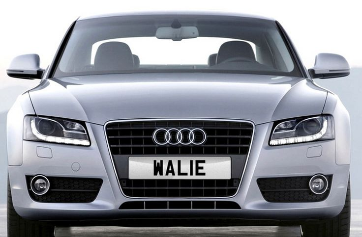 WAL 1E personalised number plate for sale at