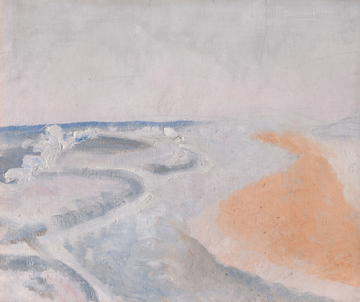 Winifred Nicholson, Seascape (Sea and Sand), 1926, Kettle's Yard, University of CambridgeKettle Yards, Abstract Landschap, Painting Class, Universe Of Cambridge, Class Inspiration, Seascape Sea, Beautiful Sea, Assistant Discovery, British Painters