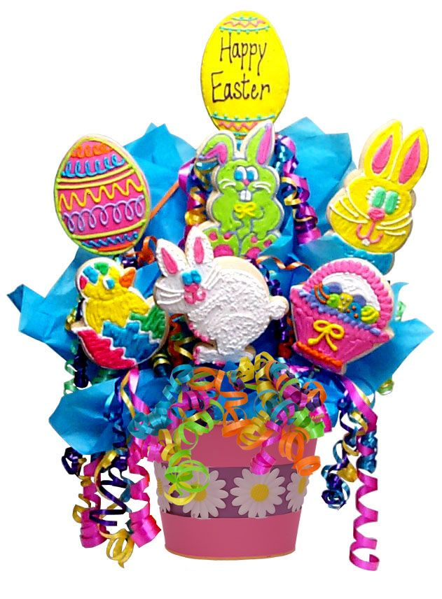 94 best Cookie bouquets images on Pinterest Cookies Cookie