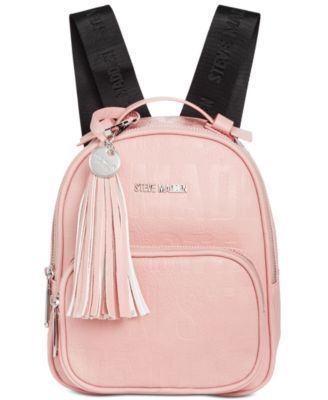 STEVE MADDEN Steve Madden New Logo Mini Backpack.  stevemadden  bags   leather  backpacks   6e97e51c42286