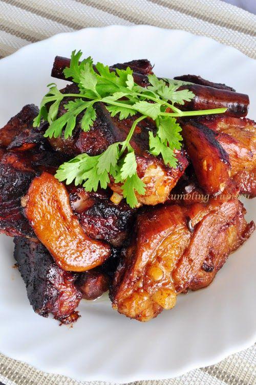 Braised Pork Ribs 红烧排骨