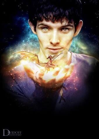 Merlin... do the BBC only hire actors with amazing cheekbones?