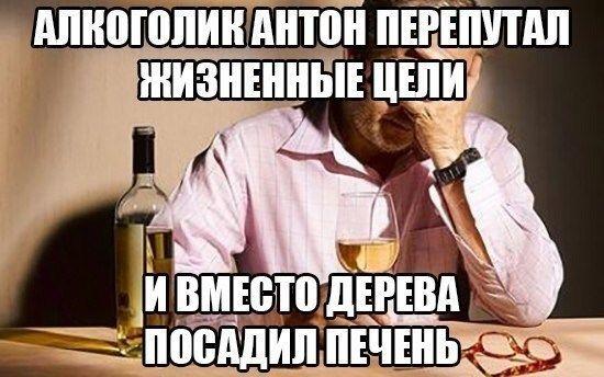 Алкоголик Антон перепутал жизненные цели... / АйДаПрикол :)