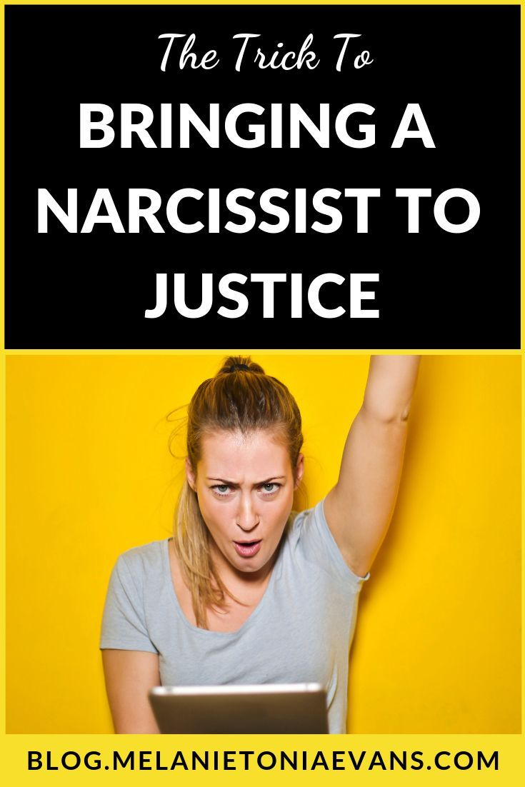 The #1 Trick For Bringing A Narcissist To Justice | psychology