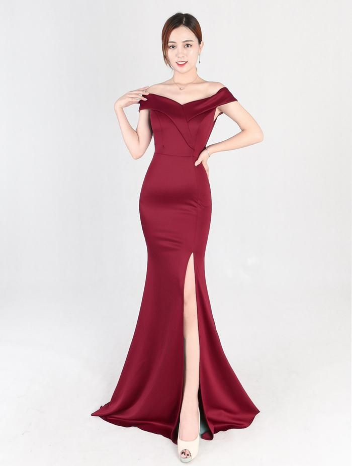 1097a1eafd3d 8642  banquet evening dress noble elegant long off shoulder mermaid quiz  master formal dress long dress
