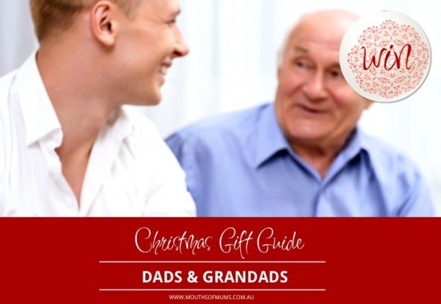 WIN MoM's 'Dads and Granddads' Christmas gift guide hamper 2015