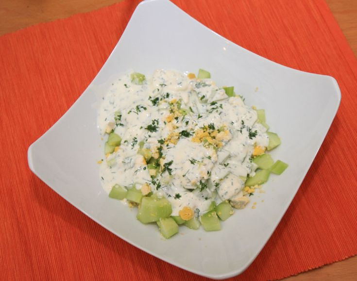 Gurkensalat mit Sahne recipe. Egg recipes from Cookipedia. This is a simple, yet delicious German cucumber salad with cream.