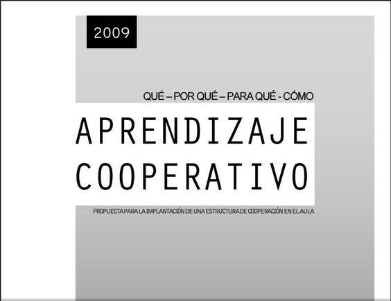 """Hola: Compartimos un interesante eBook sobre """"Aprendizaje Cooperativo - Propuesta de Implantación para el Aula"""" Un gran saludo. Visto en: docs.google.com Acceda al eBook desde: AQUÍ T..."""