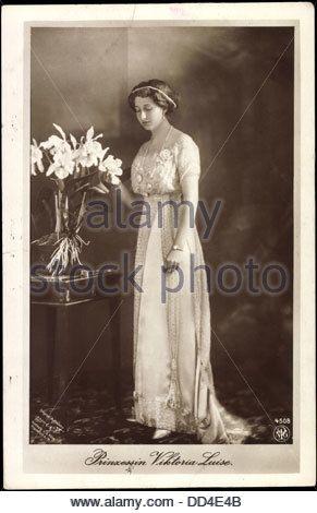Ak Prinzessin Viktoria Luise von Preußen, NPG 4508, Standportrait; - Stock Image