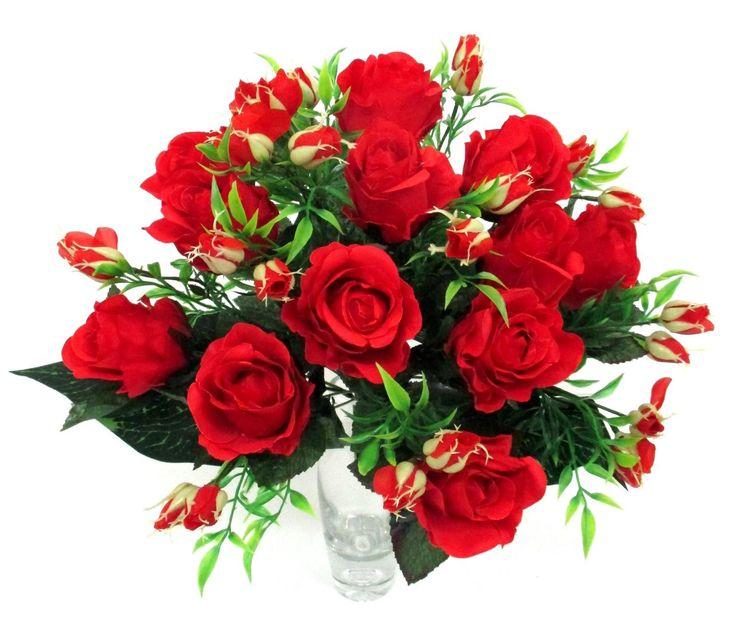 Selyem rózsacsokor a Zöldvilág Webáruházban http://www.selyemviragok.hu/index.php?id=2007&lapszam=2