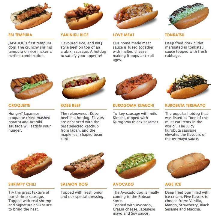 Japadog is amazing. If you're just looking to grab a quick street eat in shopping district go to the Robson location