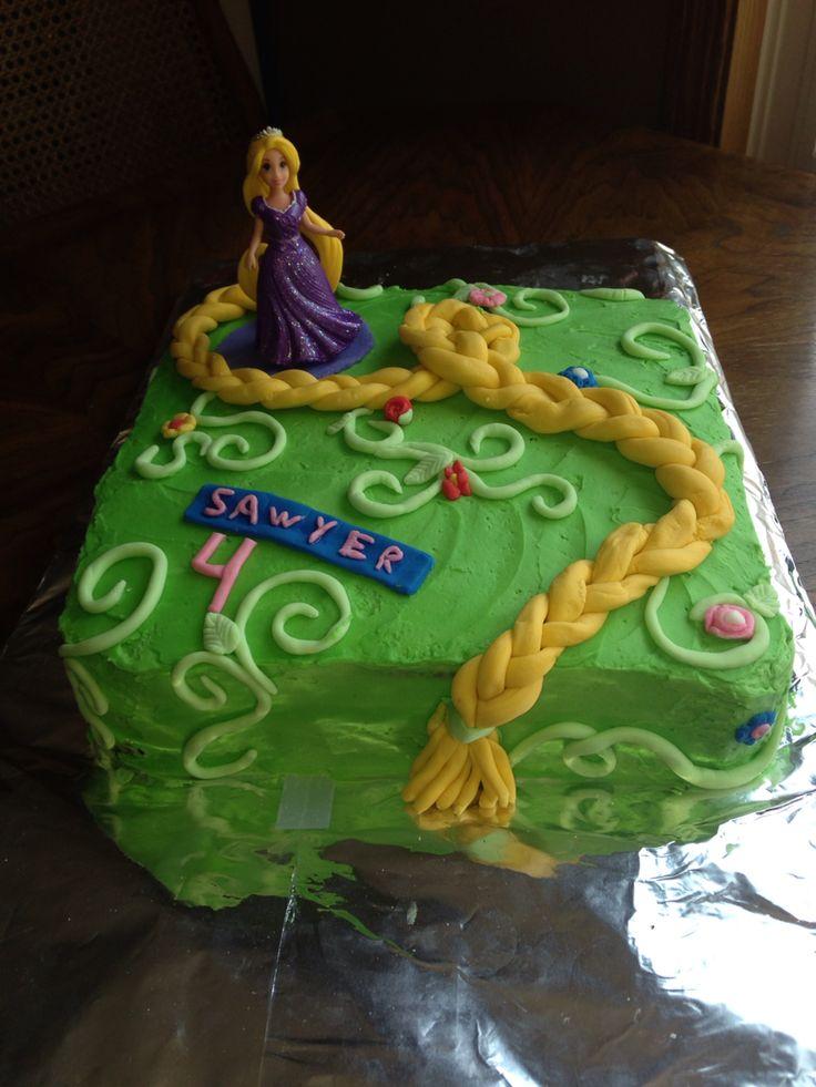 Tangled Cake , Rapunzel  For Sawyer