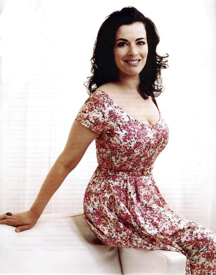 Nigella Lawson. She is so beautiful!  Such a cute dress