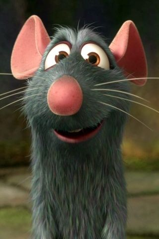 My Favourite Cartoon Character - Ratatouille (2007)