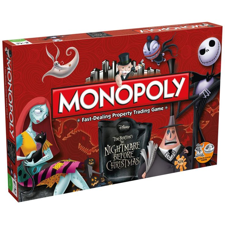 Jeu de Société The Nightmare Before Christmas »Monopoly« | Dispo chez EMP | Plus de Jeux & Puzzles Merchandising culte sur notre site en ligne ✓ Prix imbattables !