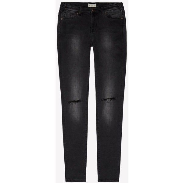 The Fernham Super Skinny Jean Short | Jack Wills ($70) ❤ liked on Polyvore featuring jeans, jack wills, super skinny jeans, skinny leg jeans, skinny fit jeans and jack wills jeans