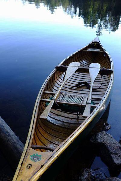 Old Timer Chestnut Setup  Chestnut canoes were made in Fredericton, N.B.