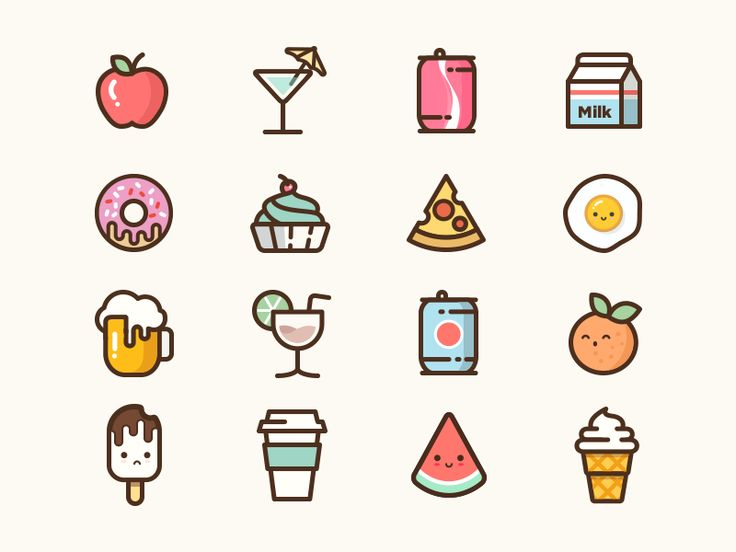 Summer Icon full by Abby Wang #Design Popular #Dribbble #shots