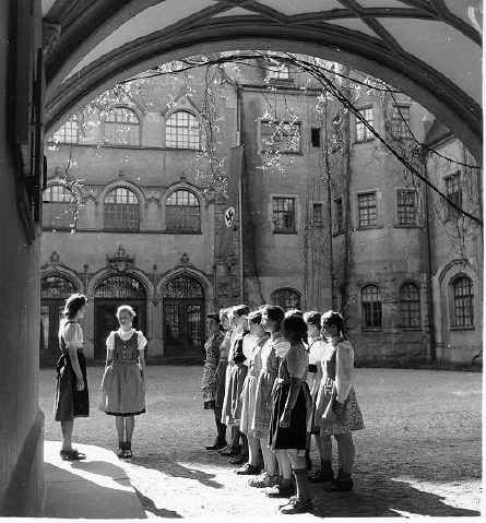 NPEA: National Political schools for the third reich.Secondary boarding schools kept the children isolated and indoctrinated. Of the forty odd schools, only three were for girls.