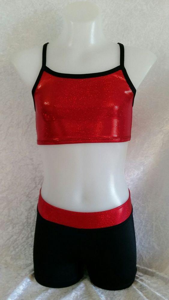 Size 8 Crop Top & Shorts Set. Gymnastic/Dance in Clothing, Shoes, Accessories, Dancewear, Children's Dancewear | eBay!
