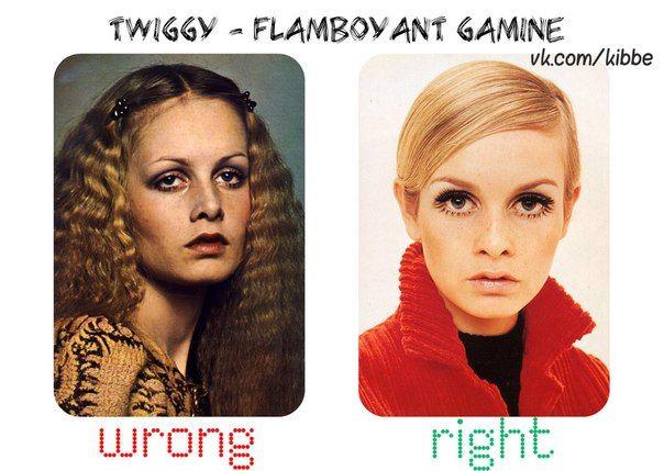 Flamboyant Gamine Angelic Look Related Keywords