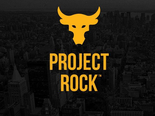 7ef5a529c7 Project Rock | Under Armour | project rock in 2019 | The rock workout, Rock,  The rock motivation