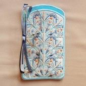 I found this Embroidery Design for only: $6.00 on aStitchaHalf.com! Snow Song Eyeglasses Case is the latest accessory you need for your eyeglasses, reading glasses as well as your sun glasses. And did you know what else you can do with your eyeglass cases