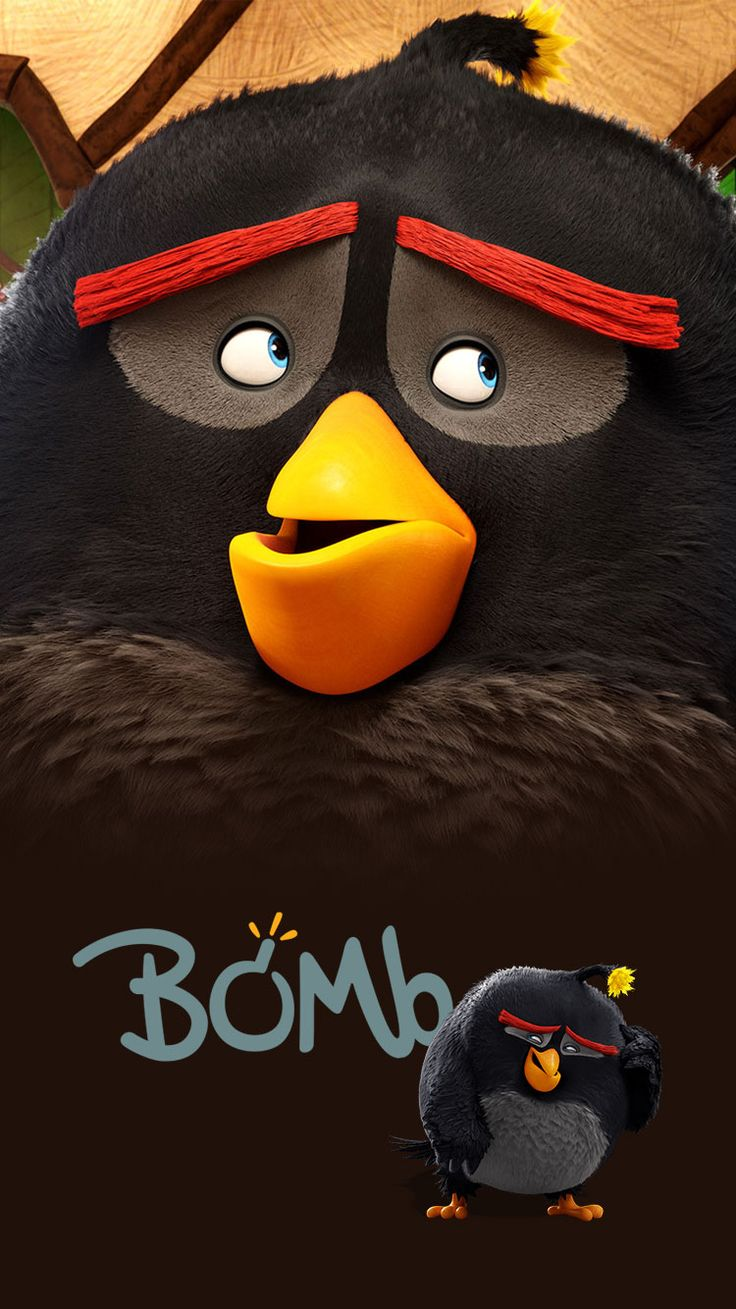 Bomb Red Chuck Angry Birds Wallpapers For Desktop