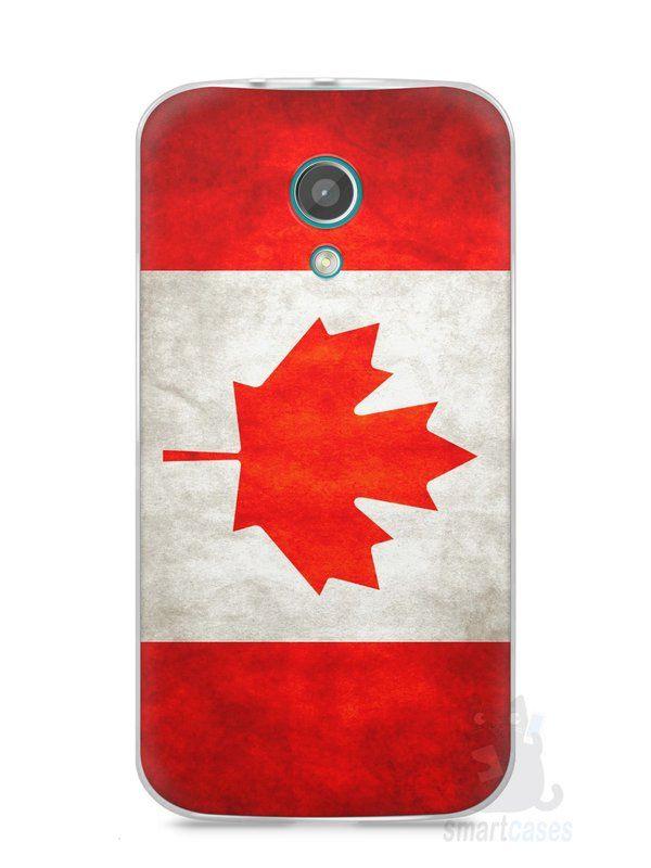 Capa Moto G2 Bandeira do Canadá - SmartCases - Acessórios para celulares e tablets :)