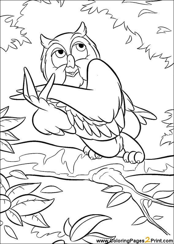 Coloring Sheets Bambi Coloring Pages Disney Coloring Pages Disney Characters Pictures Owl Coloring Pages
