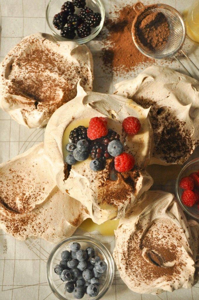 Chocolate pavlova | South African Recipes | Pinterest