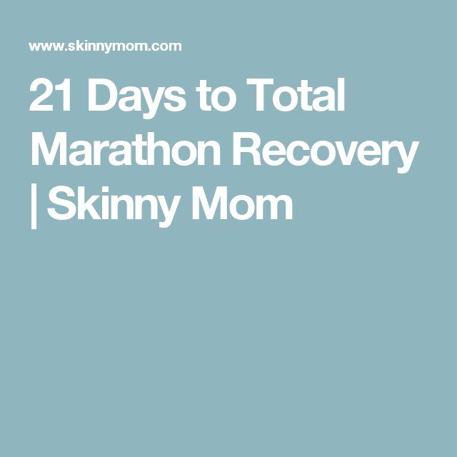 25+ beste ideeën over Marathon recovery op Pinterest - recovery plans