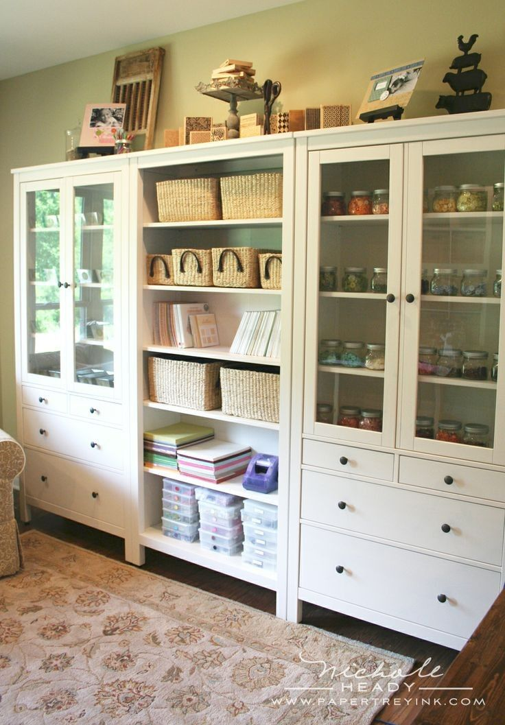lovely ikea craft room storage
