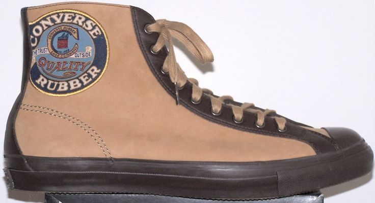 Original Sneaker From The Converse Rubber Shoe Company