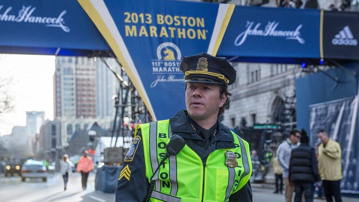 Mark Wahlberg leads the cast of this emotional and thrilling action film based on the devastating Boston Marathon bombings of 2013.  #patriots #day #marathon #boston #bomb #attack #terrorist #history #2013 #kevin #bacon #running #race #emotional #action #explosions #cinema #film #review #movies