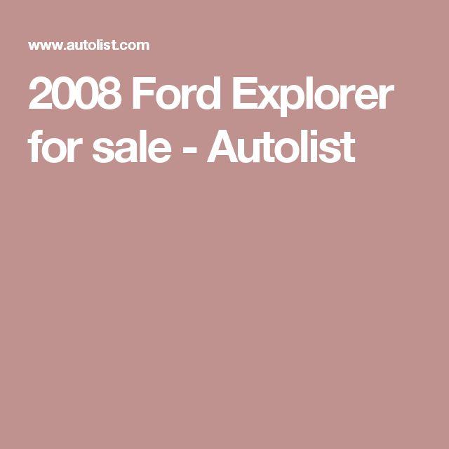 2008 Ford Explorer for sale - Autolist