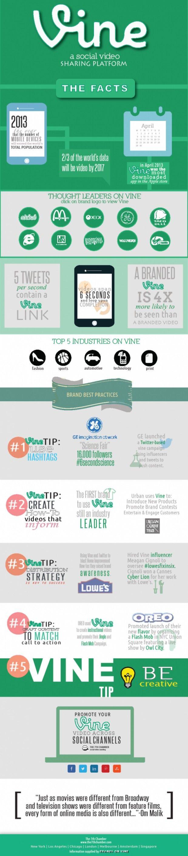 #Vine Videos Facts: i migliori brand sulla piattaforma di instant video [INFOGRAFICA]