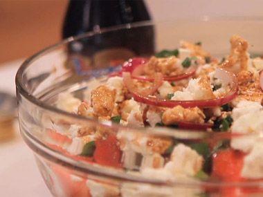 Watermelon feta saladSalad Recipe