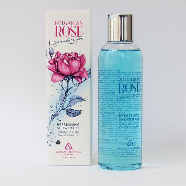 Gel ducha refrescante Rose Signature Spa  200 ml