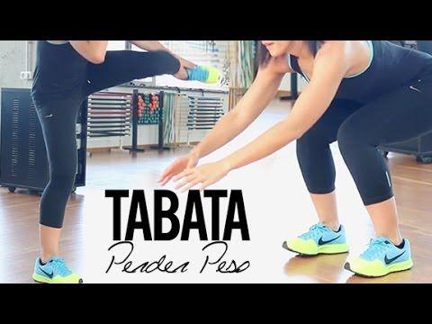 EJERCICIOS DE CARDIO PARA PERDER PESO | TABATA - YouTube