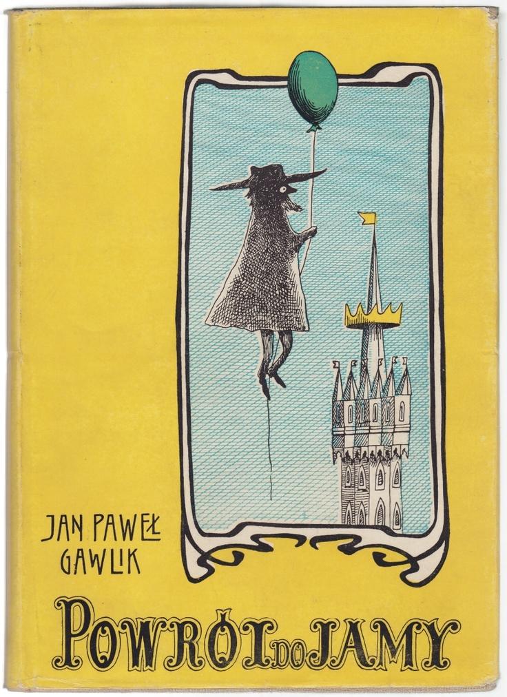 'Powrót do Jamy', Kraków 1961, cover by Daniel Mróz.