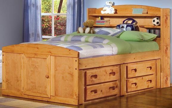 Trendwood Palomino Full Captains Bed