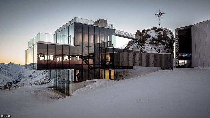 Fans of James Bond will recognise this futuristic glass building from the latest film, Spe...