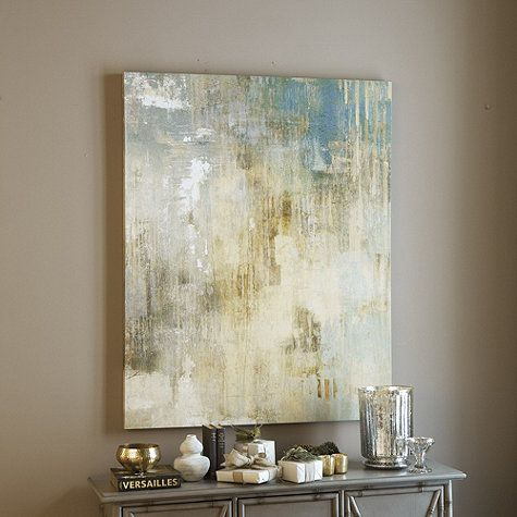 "Paris Mist Art in two sizes:  40"" X 32"" and 50"" X 40"""