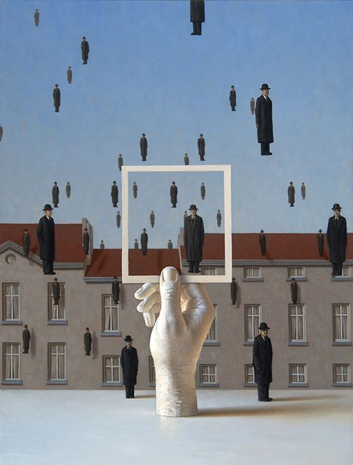 René Magritte. Belgian painter, draughtsman, printmaker, sculptor, photographer and film maker. He was one of the major figures of Surrealism and perhaps the greatest Belgian artist of the 20th century.  #Belgium #Artist #Surrealism