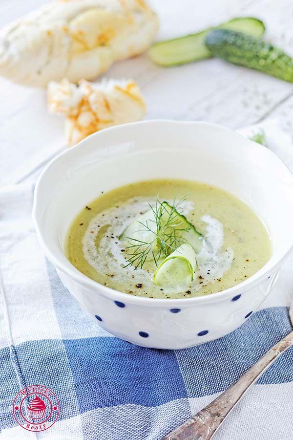 zupa ogórkowa - cucumber soup