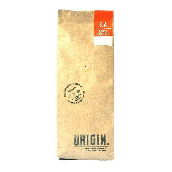 This delicious Brazilian from Origin Coffee Roasting has flavours of nuts & raisins as well as a luxurious, creamy body & mouth feel