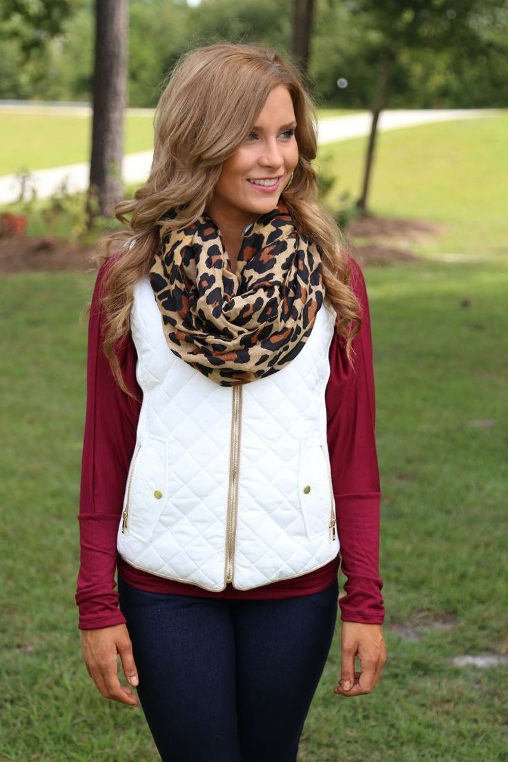 White Quilted Vest Off The Racks Boutique Online