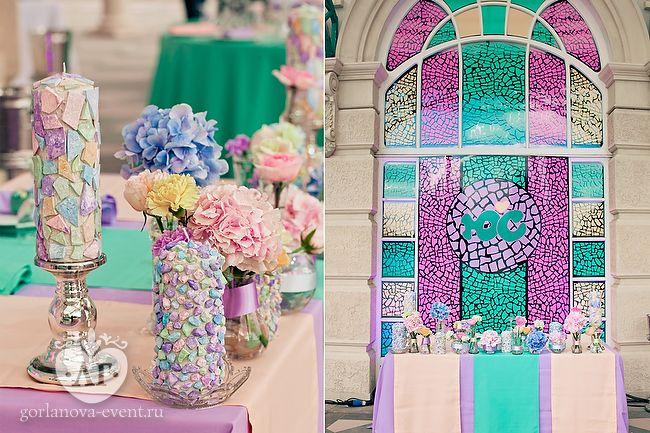 Мозаика счастливой свадьбы: два взгляда на один праздник | Свадебное агентство Лилии Горлановой