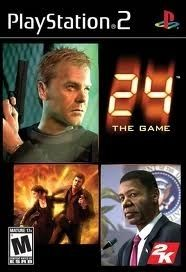 24 The Game - PS2 Game